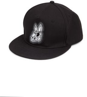 McQ Cotton Graphic Baseball Hat