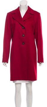Cinzia Rocca Cashmere Knee-Length Coat