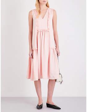 Claudie Pierlot Reveuse satin dress