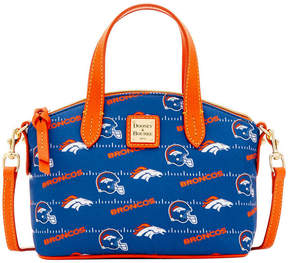 Dooney & Bourke Denver Broncos Nylon Mini Crossbody Satchel - NAVY - STYLE