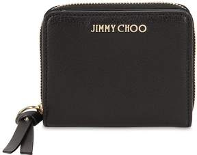 Jimmy Choo Regina Studded Leather Zip Around Wallet