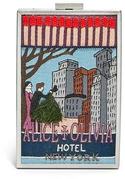 Alice + Olivia Sophia Ny North South Clutch