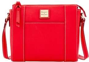 Dooney & Bourke Saffiano Lexington Crossbody Shoulder Bag - RED - STYLE