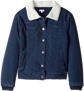 Splendid Littles Baby French Terry Sherpa Jacket Girl's Coat