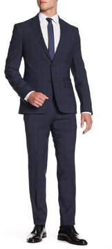 Nordstrom Wool Pane Trim Suit