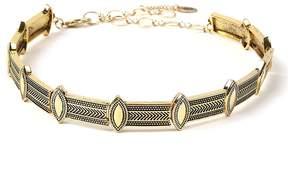 Amrita Singh Goldtone Geometric Choker Necklace