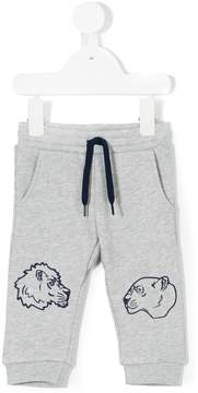 Kenzo tiger print track pants