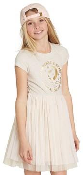 Billabong Girl's Sunkissed Nights Mixed Media Dress