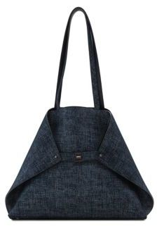 Akris Ai Medium Soft Shoulder Reversible Tote