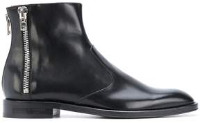 Givenchy zip detail ankle boots