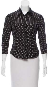 Band Of Outsiders Polka Dot Button-Up