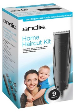 Andis Home Haircut 9 Piece Haircutting Kit - 18575