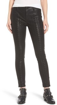 Blank NYC Women's Blanknyc Whipstitch Ankle Skinny Faux Leather Pants