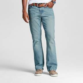 Mossimo Men's Bootcut Jeans Light Wash