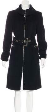 Andrew Marc Wool & Angora-Blend Coat