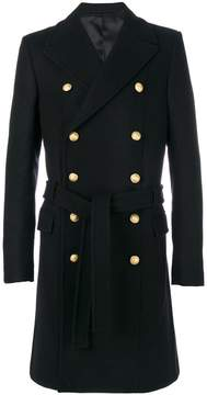 Balmain button-embellished coat