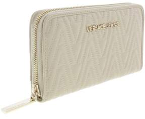 Versace EE3VRBPY2 Beige Continental Wallet