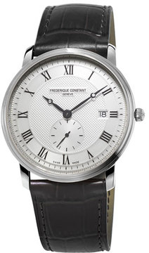 Frederique Constant Gents Classics Slimline Stainless Watch