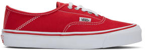 Vans Red Alyx Edition OG Style 43 LX Sneakers
