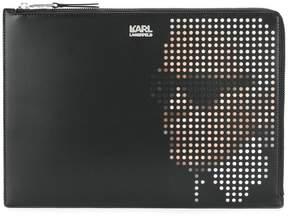 Karl Lagerfeld Yoni Alter clutch bag
