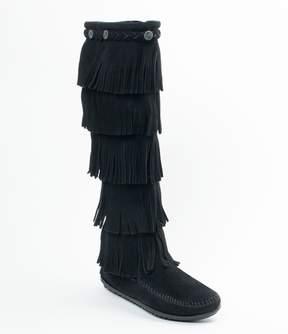 Minnetonka 5-Layer Fringe Boots