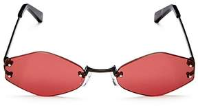 KENDALL + KYLIE Kye Rimless Oval Sunglasses, 51mm