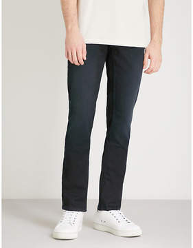 BOSS ORANGE Slim-fit tapered super-stretch jeans