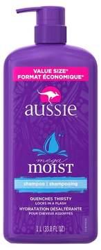 Aussie Mega Moist Shampoo - 33.8oz