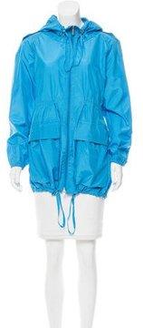 ADD Silk Hooded Windbreaker Jacket w/ Tags