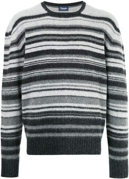 Drumohr striped crew neck sweater