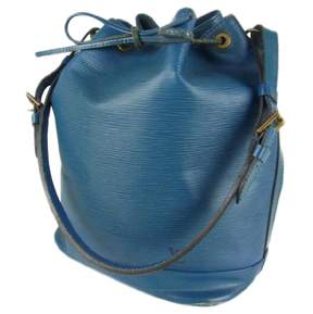 Louis Vuitton Noé leather handbag - BLUE - STYLE