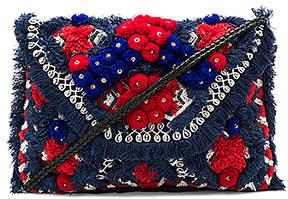 Antik Batik Sunny Wallet in Navy.