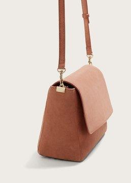 Violeta BY MANGO Leather cross body bag