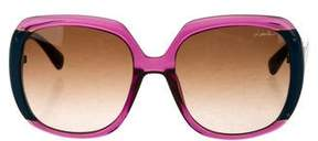 Lanvin Bicolor Oversize Sunglasses w/ Tags
