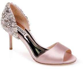 Badgley Mischka Sandie Peep Toe Pump