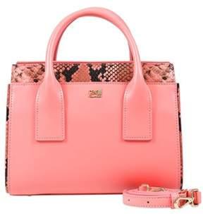 Class Roberto Cavalli Peach Small Handbag Lucille 002.