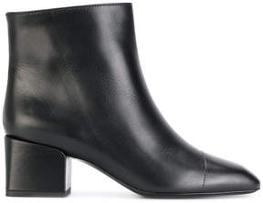 Jil Sander chunky heel ankle boots