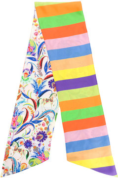 Etro reversible patterned scarf
