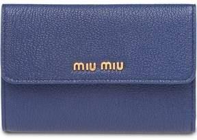 Miu Miu Madras flap wallet