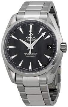 Omega Aqua Terra Black Dial Stainless Steel Men's Watch