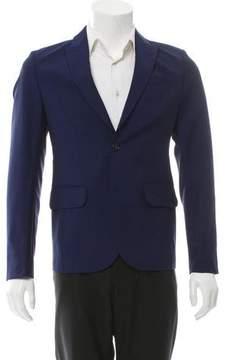 Carven Wool & Mohair-Blend Blazer