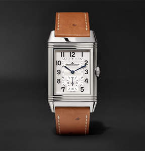 Jaeger-LeCoultre Reverso Classic Large 27mm Stainless Steel And Ostrich Watch