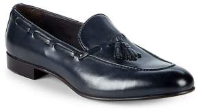 Saks Fifth Avenue Made in Italy Men's Tassel Leather Penny Loafers