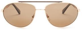 Ermenegildo Zegna Unisex Aviator Sunglasses