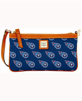 Dooney & Bourke Tennessee Titans Large Slim Wristlet - NAVY - STYLE