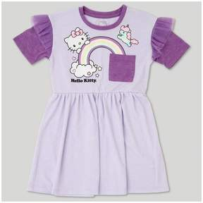 Hello Kitty Toddler Girls' A Line Dress - Lilac