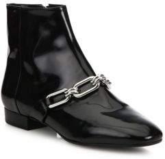 Michael Kors Lennox Patent Leather Booties