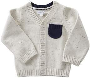 Mud Pie Speckled Button Up Sweater Boy's Sweater