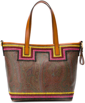 Etro paisley print small tote bag