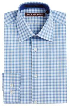 Michael Kors Boy's Checked Print Sportshirt